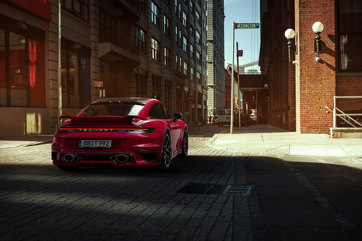 TECHART Porsche 911 Turbo Aerokit