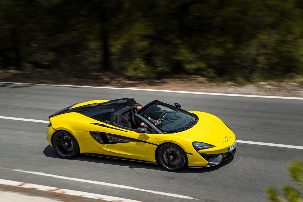2020 McLaren 570S Spider - Sicilian Yellow
