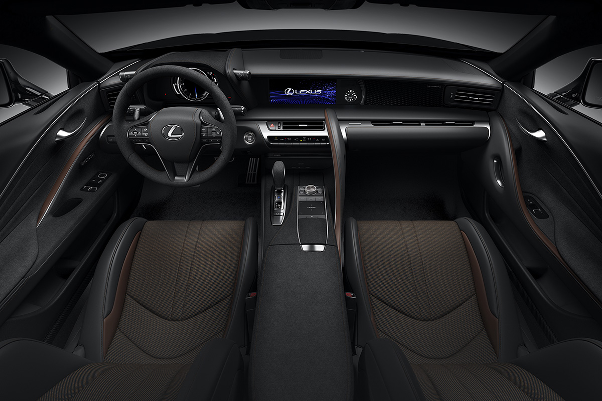 2021 Lexus LC 500 Inspiration Series interior