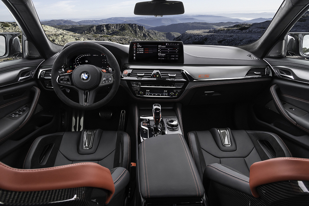 2022 BMW M5 CS Sedan - Interior