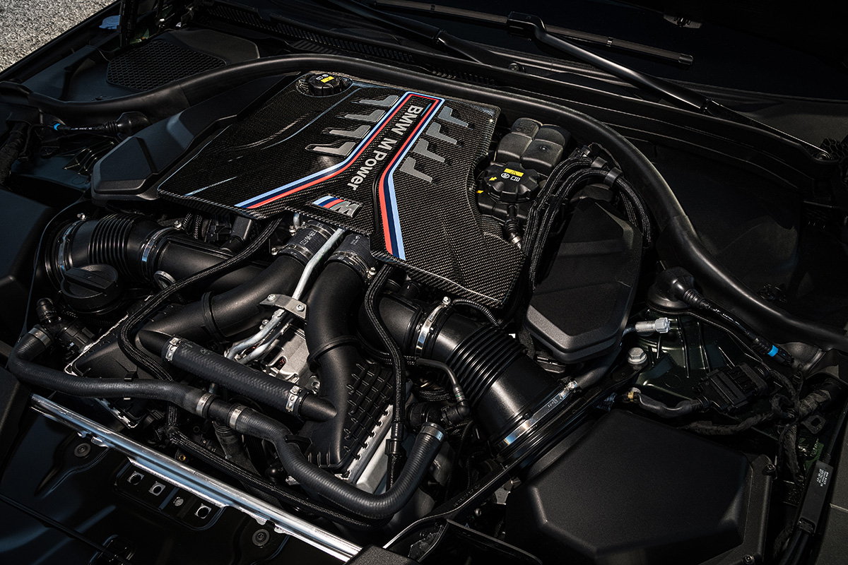 2022 BMW M5 CS Sedan - Engine