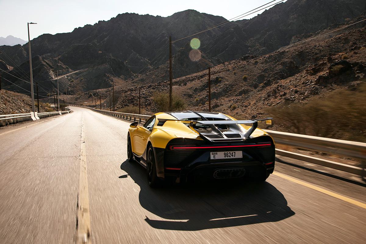 Bugatti Chiron Pur Sport - Dubai