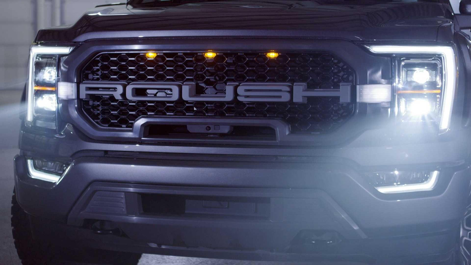 2021 Roush Ford F-150 grille