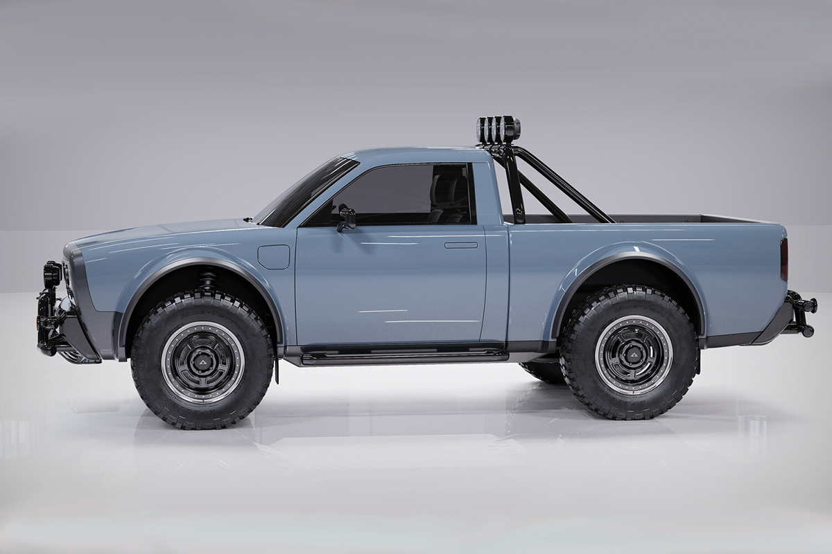 Alpha WOLF electric truck