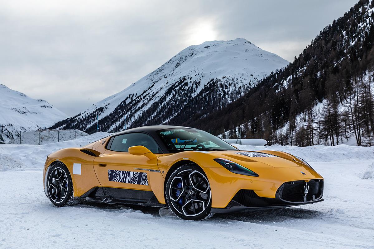 Maserati MC20 cold weather testing