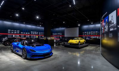 Petersen Automotive Museum - Pininfarina exhibit