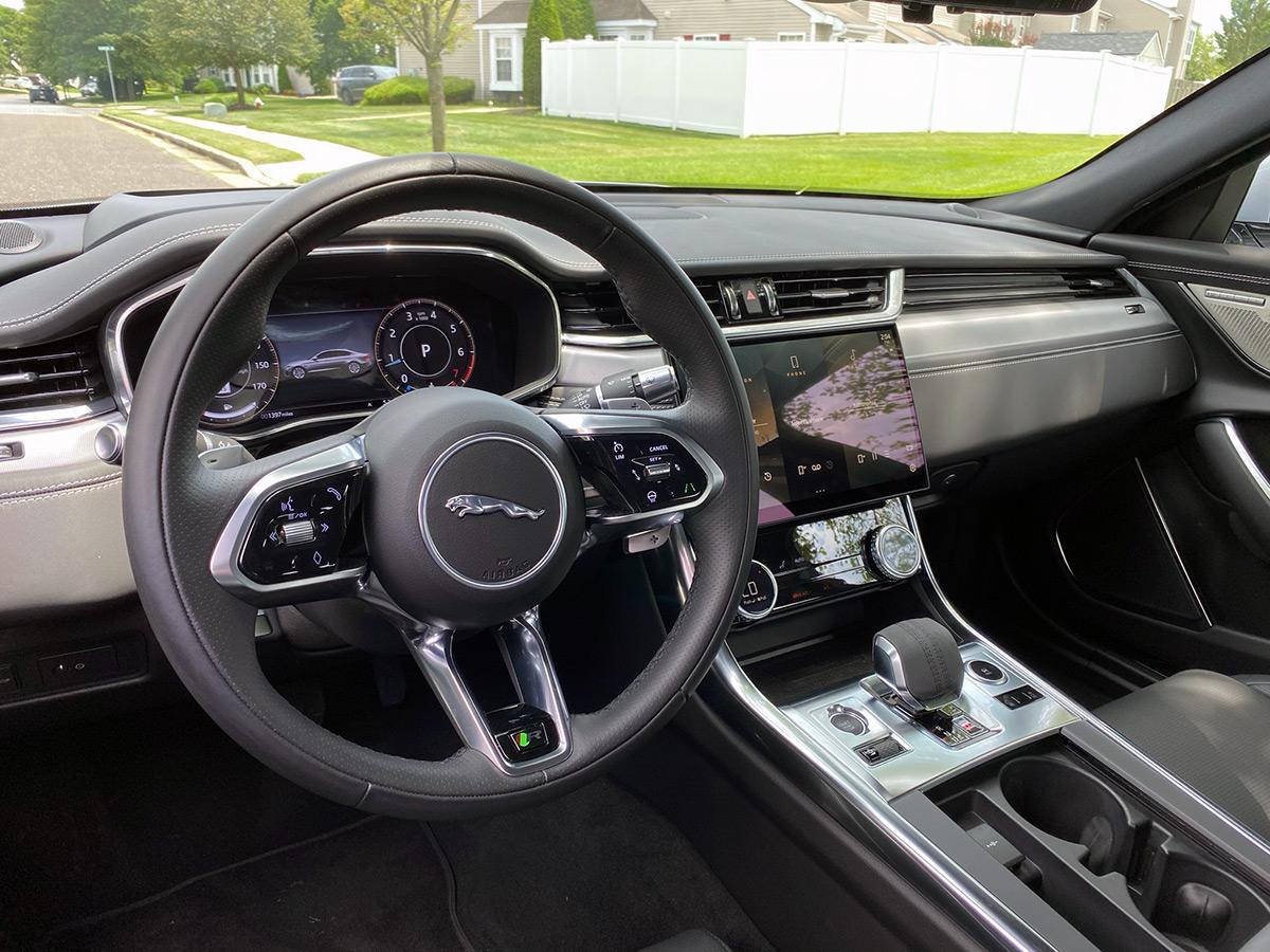 2021 Jaguar XF P300 R-Dynamic SE interior