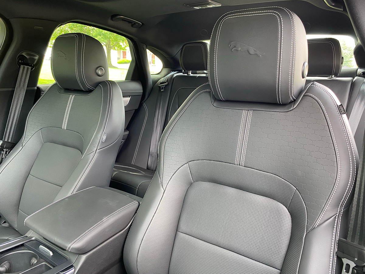 2021 Jaguar XF P300 R-Dynamic SE seats