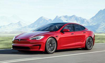 Tesla Model S Plaid made to sound like a cammed Hellcat