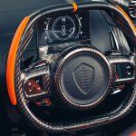 Koenigsegg Jesko in Tang Orange Pearl