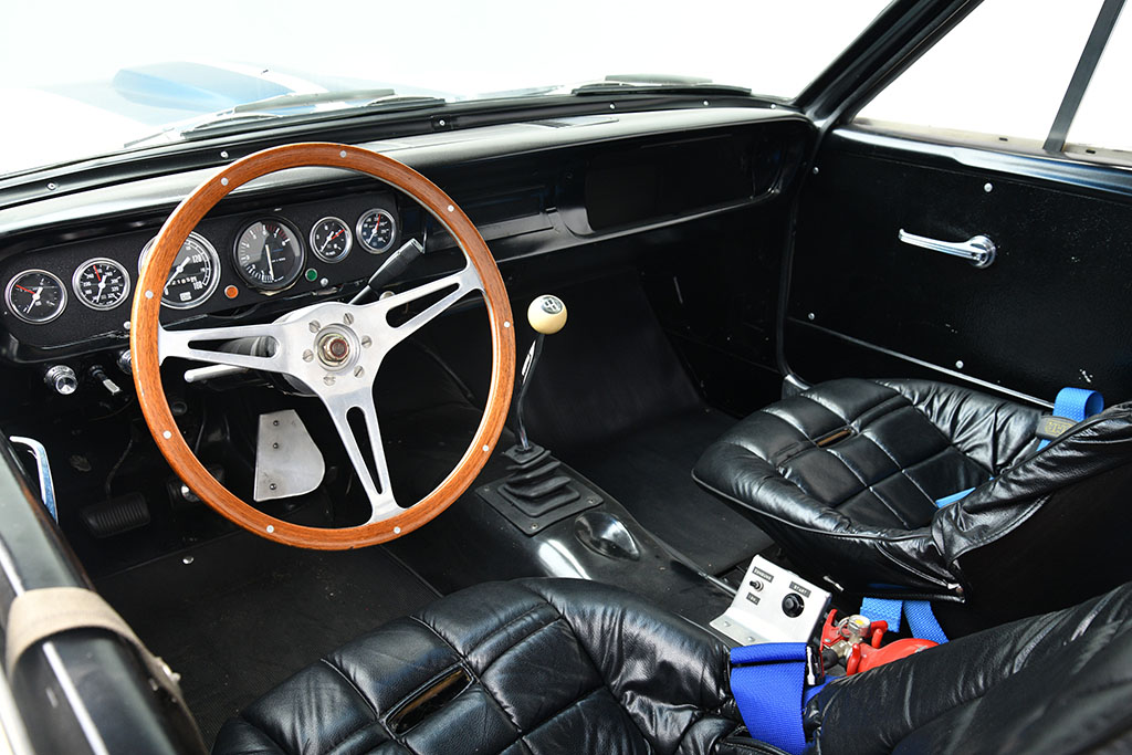 1966 Ford Mustang Shelby GT350 owned and raced by Stirling Moss