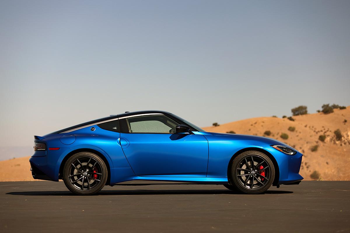 2023 Nissan Z side profile