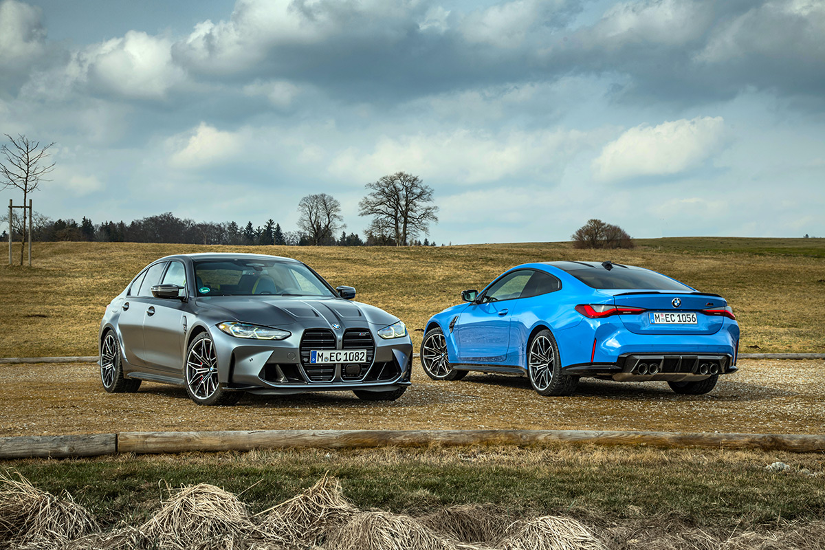 2022 BMW M3 Competition xDrive Sedan and M4 Competition xDrive Coupe